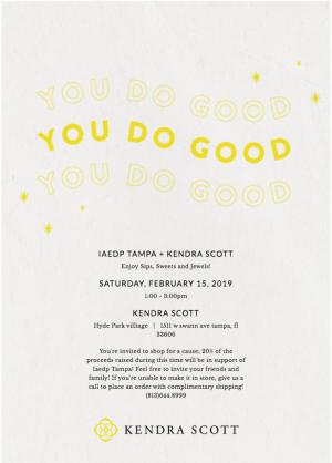 Kendra Scott IAEDP E-Invite